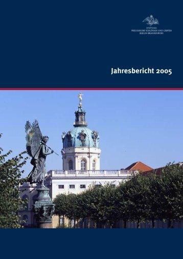 11.-20.5.2005 - Stiftung Preußische Schlösser und Gärten