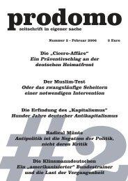 """Die """"Cicero-Affäre"""" Ein Präventivschlag an der deutschen ... - Prodomo"""