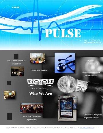 Pulse - November 2012 - PAR-BC