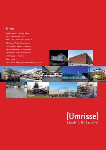 Parkhaus Rheinhallen in Köln - Umrisse