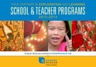 School & Teacher 2012-2013 Catalogue (PDF) - Newark Museum