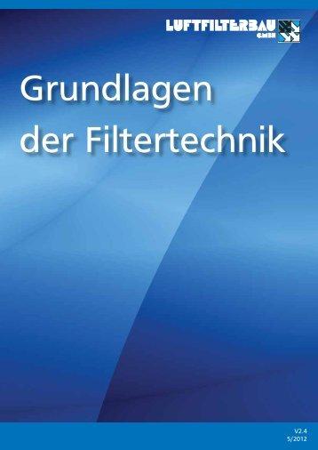 Grundlagen der Filtertechnik - HS Luftfilterbau GmbH