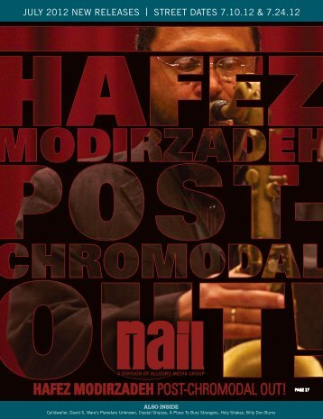 HAFEZ MODIRZADEH POST4CHROMODAL OUT! - Allegro Music