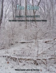 January/February 2012 newsletter (2.1 MB) - Hoosier Outdoor Writers