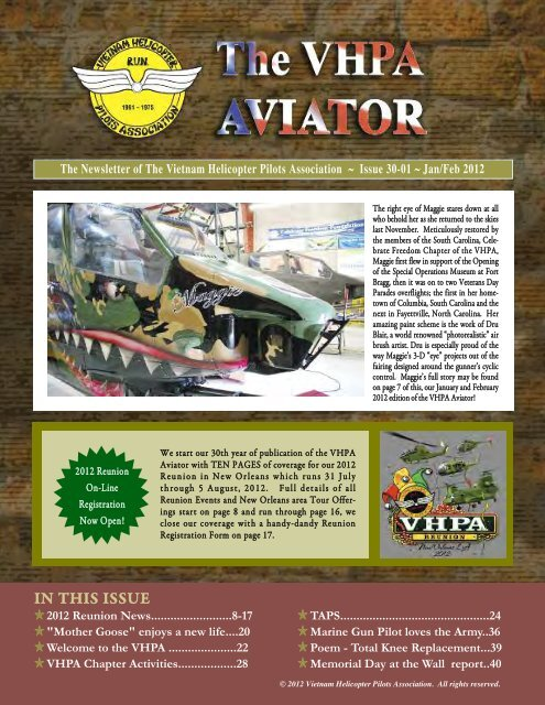 The VHPA Aviator - Vietnam Helicopter Pilots Association