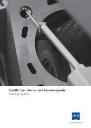 Oberflächen-, Kontur - units Industrielle Messtechnik, Engineering ...