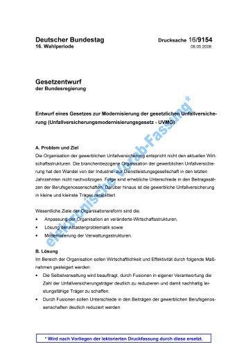 UVMG Entwurf (pdf, 571 KB) - BDPK