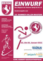 15. Hammer Hallen-Masters