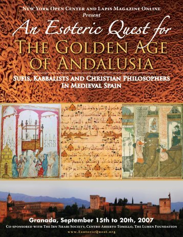 Sufis, Kabbalists and Christian Philosophers In Medieval Spain