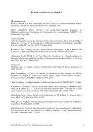 Prof. Dr. David S. du Toit: Publikationen (in Auswahl) - nt.evtheol.uni ...