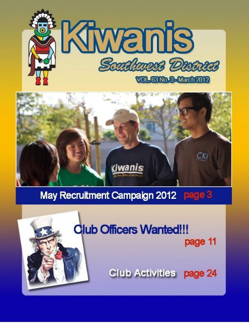 May Recruitment Campaign 2012 - KiwanisOne.org
