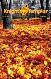 VOLUME LVII NOVEMBER 2011 NUMBER 11 - Grand Encampment ...