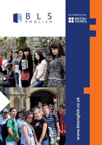www .blsenglish.co.uk - Bury Language School