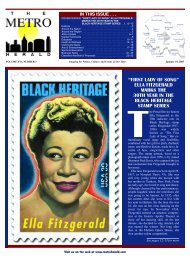 """""""first lady of song"""" ella fitzgerald marks - The Metro Herald"""