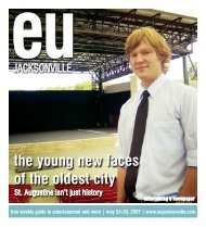 the young new faces of the oldest city - Eujacksonville.com