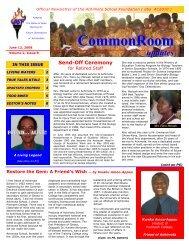 CommonRoom - Achimota School Capital Campaign