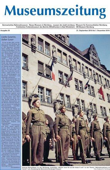 Museumszeitung, Ausgabe 35 vom 21. September 2010