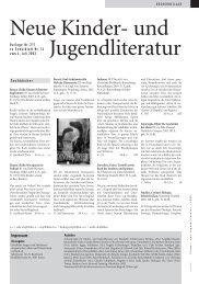 Neue Kinder- und Jugendliteratur - Rheinfelden Schulen