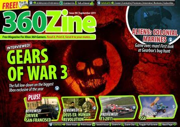 360Zine Issue 58 - news