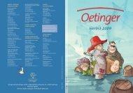 Herbst 2009 - Verlag Friedrich Oetinger