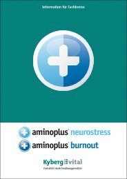 neurostress burnout - Kyberg Vital