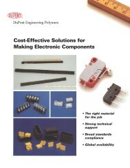 Cost-Effective Solutions for Making Electronic Components - Plastics ...