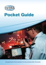 Pocket Guide - TETRA