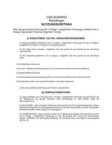 Nutzungsvertrag Bei Ecogps