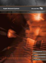 Broschüre / Brandrex / Kupfer Netzwerk Systeme