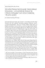 Die Lothar-Petersen-Sammlung der Tukano-Indianer ... - DigiBern