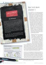 Her mit dem Zaster I - Schaffler Verlag GmbH