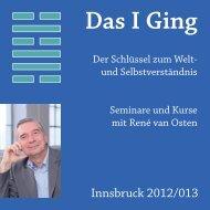 Seminarkatalog Innsbruck 2012.indd