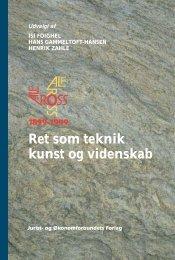 Ret som teknik kunst og videnskab R k - e-djoef.dk - Djøf Forlag