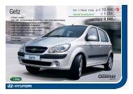 w 1.000,- ab W 9.990,- - Hyundai