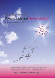 Psychologische Numerologie nach Dr. Mazza