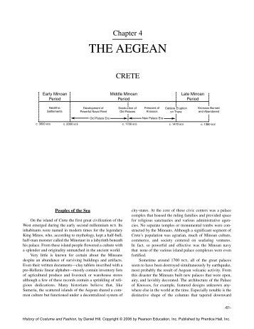 Chapter 4 THE AEGEAN - Pearson Learning Solutions