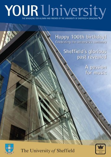 YOUR University 2004 - The University of Sheffield