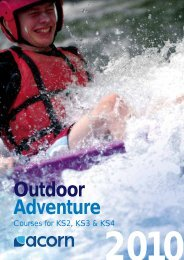 Outdoor Adventure - Acorn Travel Group