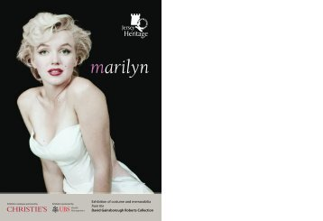 marilyn - Jersey Heritage
