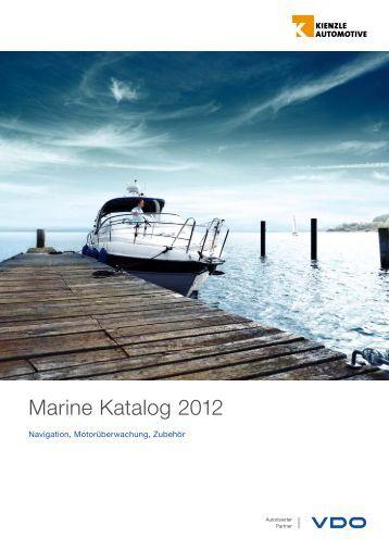 Marine Katalog 2012 - VDO Marine