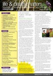 GRPCC Newsletter - Autumn 2012