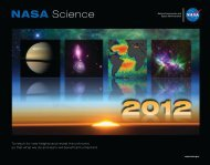 2012 NASA Science Calendar - NASA's Earth Observing System