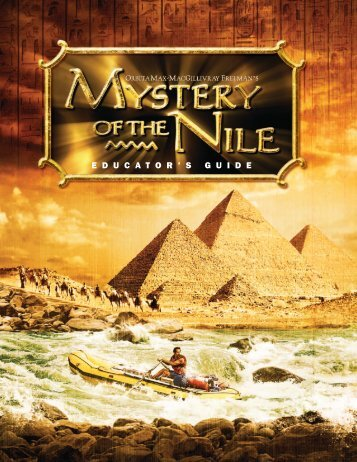 Mystery of the Nile - Reuben H. Fleet Science Center