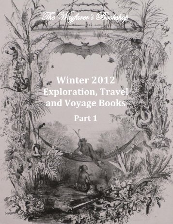 Winter 2012 Exploration, Travel and Voyage Books Part 1