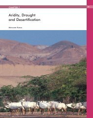 Aridity, Drought and Desertification - Arab Forum for Environment ...