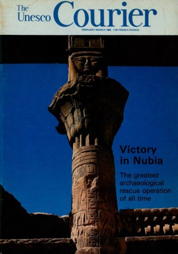 Victory in Nubia: the greatest archaeological ... - unesdoc - Unesco