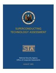 Superconducting Technology Assessment - nitrd