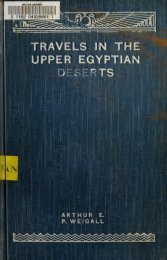 Travels in the Upper Egyptian deserts - NYU | Digital Library ...