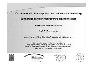 Mehrfachnennungen - Integrationsportal Recklinghausen