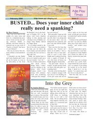 BUSTED... Does your inner child really need a spanking?